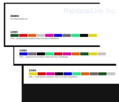 WordPress DEMO by RainbowLink Inc.